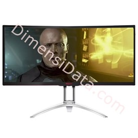 Jual LED Monitor Gaming AOC AGON [AG352QCX]